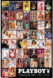 Playboy - Playmate Of The Year Covers Poster