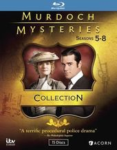 Murdoch Mysteries - Seasons 5-8 (Blu-ray)