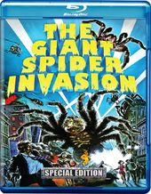 The Giant Spider Invasion (Blu-ray + DVD + CD)