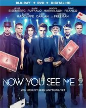 Now You See Me 2 (Blu-ray + DVD)