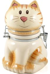 Sitting Pretty Kitty - Hinged Jar
