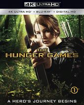 The Hunger Games (4K Ultra HD Blu-ray, Blu-ray,