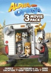 Alpha and Omega: 3 Movie Pack (3-DVD)