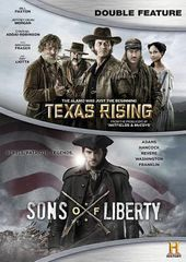 Texas Rising / Sons of Liberty (5-DVD)