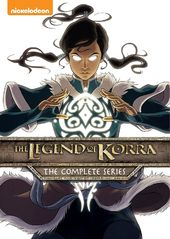 The Legend of Korra - Complete Series (8-DVD)