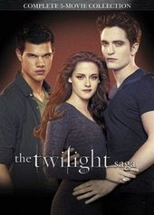 The Twilight Saga - Complete 5-Movie Collection