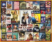WWII Posters - 1000 Piece Puzzle