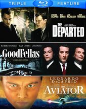 The Departed / Goodfellas / The Aviator (Blu-ray)