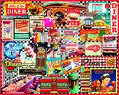 Diners - 1000 Piece Puzzle