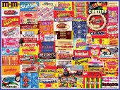 Vintage Candy Wrappers - 300 Piece Puzzle
