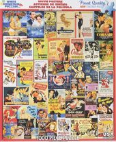 Classic Movie Posters - 1000 Piece Puzzle