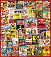 Comedy Movie Posters - 1000 Piece Puzzle