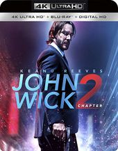 John Wick: Chapter 2 (4K UltraHD + Blu-ray)
