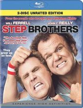 Step Brothers (Blu-ray, 2-Disc Set - Rated,