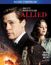 Allied (Blu-ray, Includes Digital Copy)