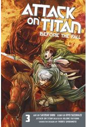 Attack on Titan 3: Before the Fall