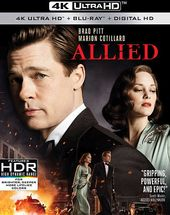 Allied (Includes Digital Copy, 4K Ultra HD