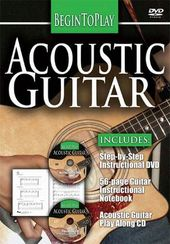 Begin to Play: Acoustic Guitar (DVD + CD + Book)