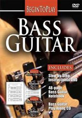Begin to Play: Bass Guitar (DVD + CD + Book)