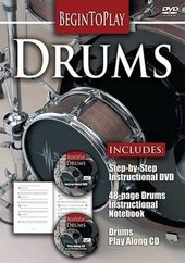 Begin to Play: Drums (DVD + CD + Book)
