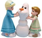 Frozen - Build A Snowman Salt & Pepper Shakers