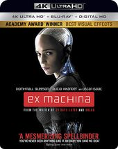Ex Machina (4K UltraHD + Blu-ray)