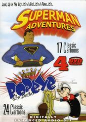 Superman Adventures / Popeye the Sailor (4-DVD)