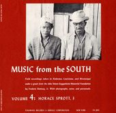 Music From the South Volume 4: Horace Sprott 3