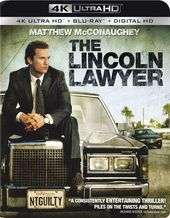The Lincoln Lawyer (4K UltraHD + Blu-ray)