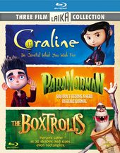 Coraline / ParaNorman / The Boxtrolls (Blu-ray)