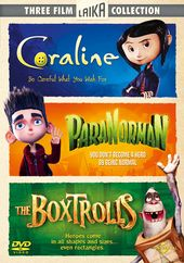 Coraline / ParaNorman / The Boxtrolls (3-DVD)