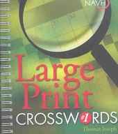 Puzzles: Large Print Crosswords