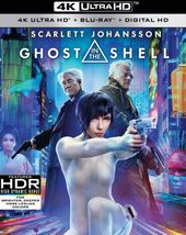 Ghost in the Shell (4K UltraHD + Blu-ray)