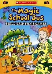 Magic School Bus - Field Trip Fun & Games (3-DVD)