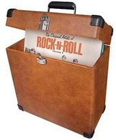 Crosley CR401-TA Record Carrier Case - Tan