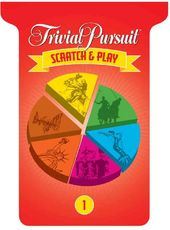 Trivia: Trivial Pursuit Scratch & Play