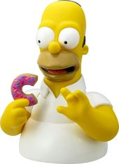 The Simpsons - Homer with Donut Bust Bank