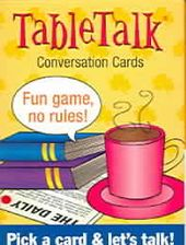 Card Games/General: Tabletalk Conversation Cards