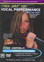 Vocal Performance Instruction - Rock your Vox