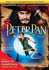 Peter Pan Live! (DVD + CD)