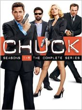 Chuck - Complete Series (23-DVD)