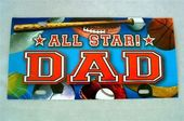 All Star Dad - License Plate