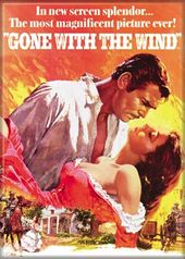 Gone With The Wind - Movie Poster - Color Photo