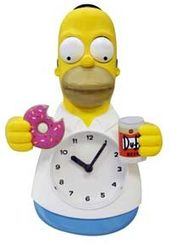 The Simpsons - Homer Animated Clock