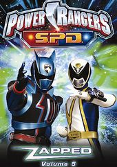 Power Rangers S.P.D., Volume 5: Zapped