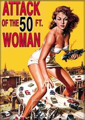 Attack of the 50 Ft. Woman - Photo Magnet 2 1/2""