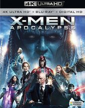 X-Men: Apocalypse (4K Ultra HD Blu-ray, Blu-ray)