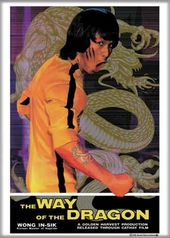Bruce Lee - Way of the Dragon Photo Magnet