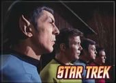 "Star Trek - Cast In Profile Photo Magnet 2 1/2"" x"