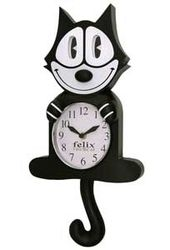 Felix the Cat - Animated Clock
